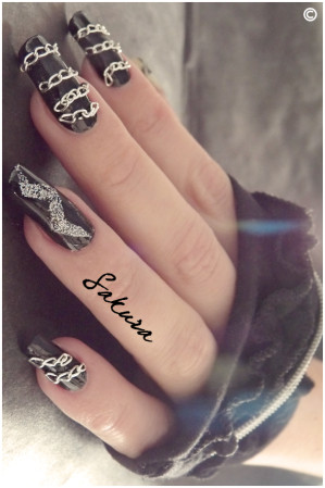NAIL ART LADY GAGA 3