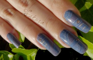 NAIL ART WATER DECALS JEANS 7