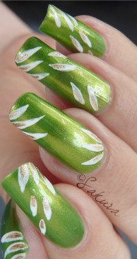 NAIL ART CHINA GLAZE CHA CHA CHA 6 (4)