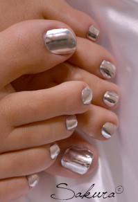 PEDICURE TRENDY NAIL WRAPS 2