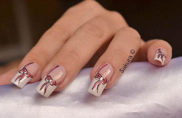NAIL ART OCTOBRE ROSE 2012 3