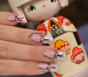 NAIL ART OCTOBRE ROSE 2012 6