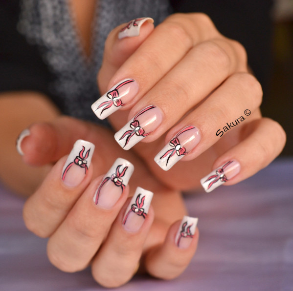 NAIL ART OCTOBRE ROSE 2012 8