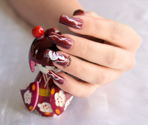 NAIL ART ONE STROKE NITA