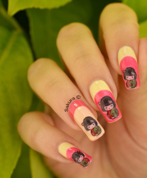 NAIL ART KIMMIDOLL STICKERS CQUEPOURNOUS 3