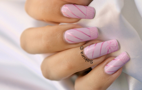 NAIL ART SWEET WATER DECAL 6